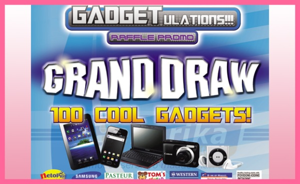 Generika Drugstore Gadgetulations Raffle Grand Draw