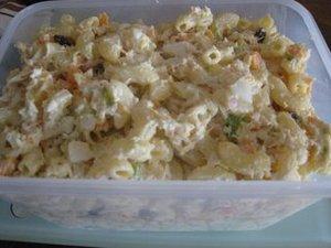 Chicken Macaroni Salad (Pinoy Style)