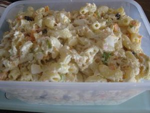 Chicken Macaroni Salad (Pinoy Style)